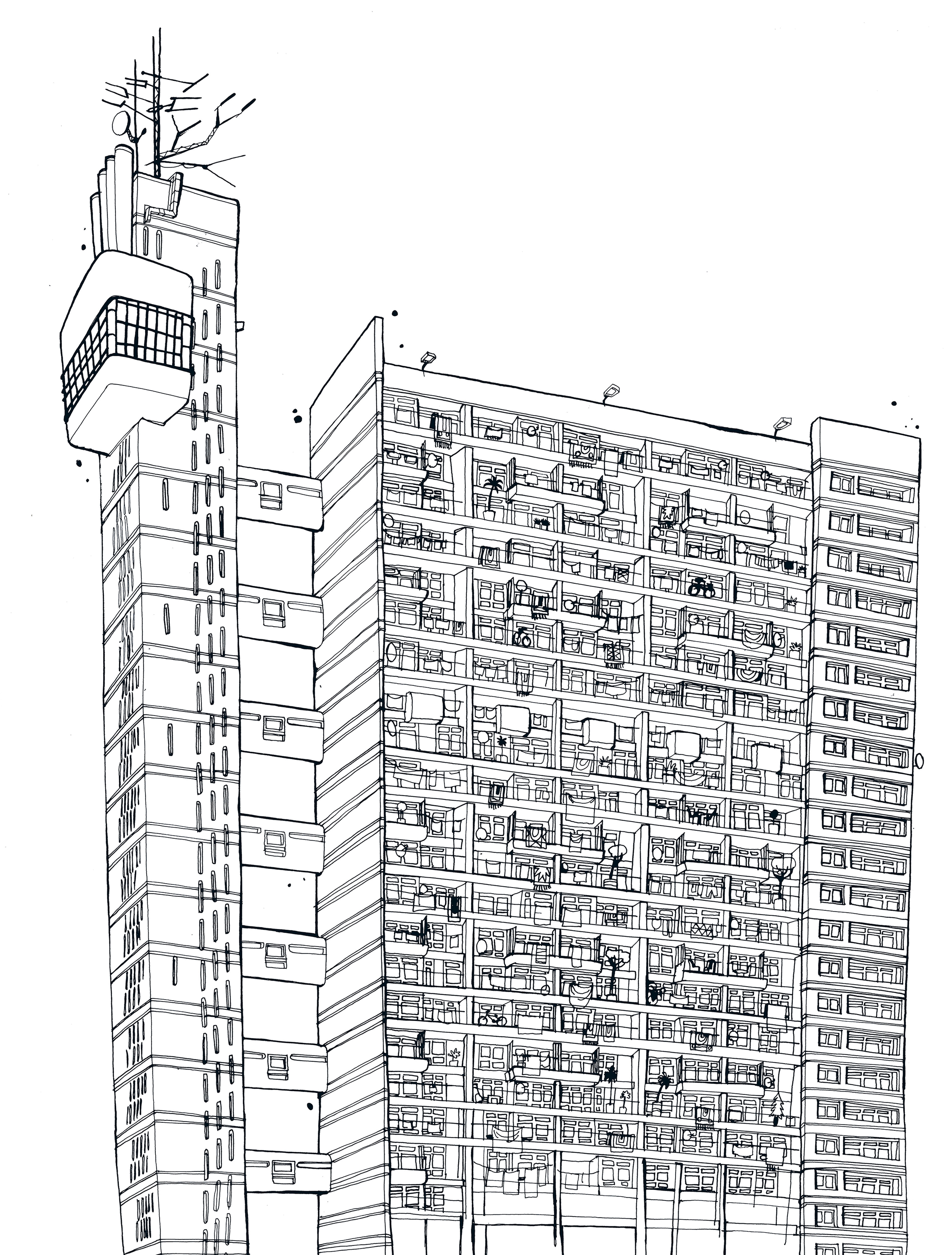 THE TRELLICK TOWER